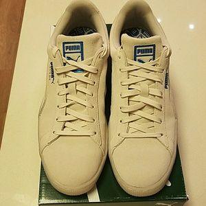 Puma Shoes - Men s Puma Suede Foil Birch Teal Sz 12.0 276002e0f
